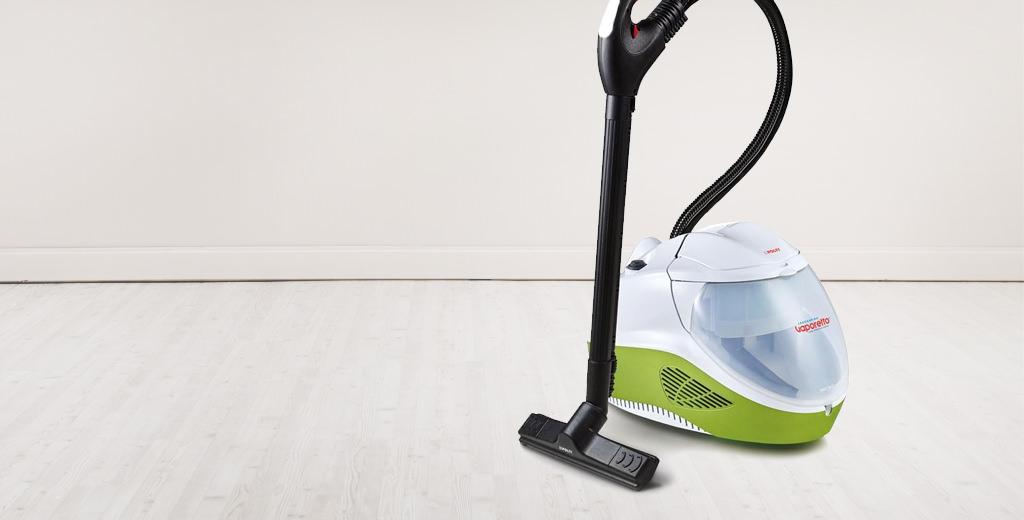 Steam vacuum cleaners