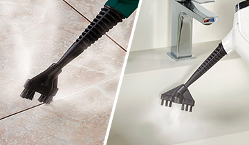 Polti Vaporetto accessories: grouting brushes