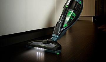 Forzaspira SR25.9 Plus stick vacuum - Brush with LED lights