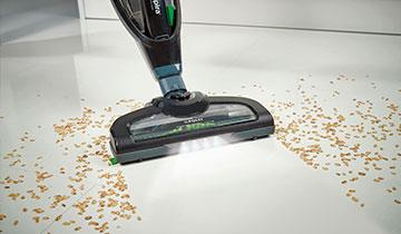 Forzaspira SR25.9 Plus stick vacuum - Turbo power function