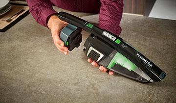 Forzaspira SR25.9 Plus stick vacuum - Extended operating time and freedom of movement