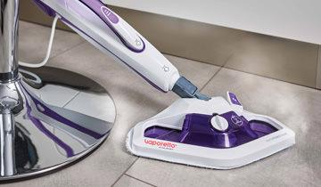 Vaporetto SV440 Double steam mop- lightweight, compact and manageable