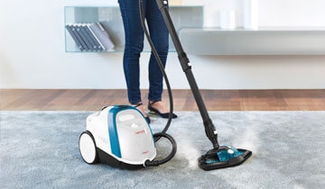 Vaporetto Smart 100_B efficient cleaning of carpets