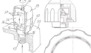 Sketch showing internal safety measures of high pressure steam cleaner