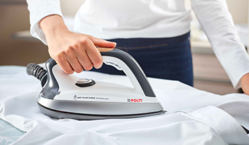 Fluid Curve iron - accessory for Polti Vaporetto: shirt ironing
