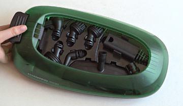 Vaporetto Handy 25_Plus accessory compartment