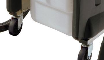 Mondial Vap 6000- 4 wheels for high mobility