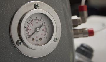 Mondial Vap Special Top -steam pressure gauge adjustment