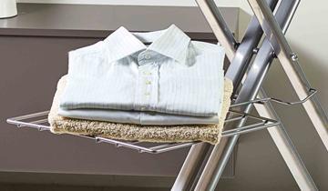 Vaporella Top-Boiler rest and laundry shelf